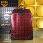 MCM-042-04 潮流時尚新款X EXO限量系列雙肩包