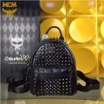 MCM-049-02 潮流時尚MCM新款mini原版玻璃鉆雙肩包