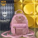 MCM-049-05 潮流時尚MCM新款mini原版玻璃鉆雙肩包