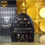 MCM-051 潮流時尚MCM新款大釘系列雙肩包