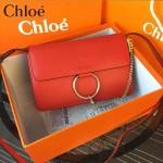 Chloe 02-08 潮流時尚最新高圓圓同款牛皮女士斜背包