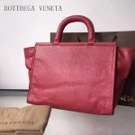 BV 323955-2 時尚商務女士紅色原版小牛皮手提公文包