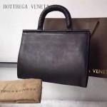 BV 323955-3 時尚商務女士黑色原版小牛皮手提公文包
