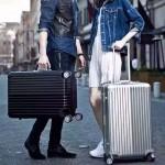 RIMOWA 1520-3 德國日默瓦潮流奢華機場必備凹造型利器黑色鋁製拉桿箱行李箱