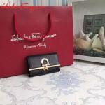 Ferragamo 224627-02 專櫃最新進口原版牛皮三折鑰匙包