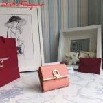 Ferragamo KB-224639-010 歐美時尚新款原版進口牛皮小號法式錢包