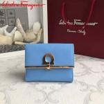 Ferragamo KB-224639-012 歐美時尚新款原版進口牛皮小號法式錢包