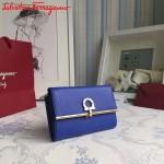 Ferragamo KB-22C115-02 歐美時尚新款原版進口牛皮中號法式錢包