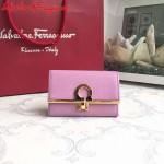 Ferragamo KB-224639-011 歐美時尚新款原版進口牛皮小號法式錢包