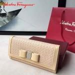 Ferragamo SF-22B876-01 專櫃最新淑女款原版進口荷蘭牛皮錢包