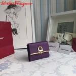 Ferragamo KB-224639-05 歐美時尚新款原版進口牛皮小號法式錢包