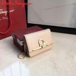 Ferragamo SF-22C110-01 專櫃最新原版牛皮多功能法式鑰匙錢包