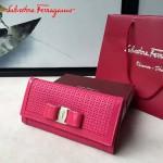 Ferragamo SF-22B876-02 專櫃最新淑女款原版進口荷蘭牛皮錢包