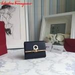 Ferragamo KB-224639-014 歐美時尚新款原版進口牛皮小號法式錢包