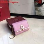 Ferragamo SF-22C110-02 專櫃最新原版牛皮多功能法式鑰匙錢包