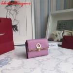 Ferragamo KB-224639-06 歐美時尚新款原版進口牛皮小號法式錢包