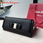 Ferragamo SF-22B876 專櫃最新淑女款原版進口荷蘭牛皮錢包