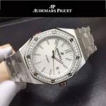 AP-081-04 新款皇家橡樹離岸形系列瑞士2813機芯帶夜光表盤運動款手表