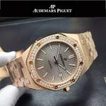 AP-081-010 新款皇家橡樹離岸形系列瑞士2813機芯帶夜光表盤運動款手表