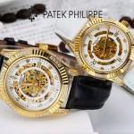 PATEK PHILIPPE-0138-05 時尚新款進口瑞士8N24全自動機械機芯情侶款