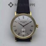 PATEK PHILIPPE-0136-01 古典系列進口瑞士Cal.215PS機芯男士腕表