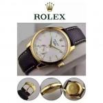ROLEX-049-01 勞力士28800每小時振蕩次數瑞士ETA2824動力儲備36小時切利尼腕表