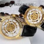 PATEK PHILIPPE-0138-03 時尚新款進口瑞士8N24全自動機械機芯情侶款