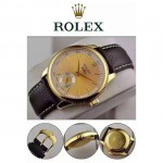 ROLEX-049-03 勞力士28800每小時振蕩次數瑞士ETA2824動力儲備36小時切利尼腕表