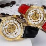 PATEK PHILIPPE-0138-04 時尚新款進口瑞士8N24全自動機械機芯情侶款