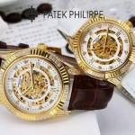 PATEK PHILIPPE-0138-01 時尚新款進口瑞士8N24全自動機械機芯情侶款