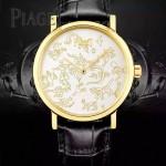 Piaget-021-02 時尚新款Altiplano系列G0A40605採用9015機芯男表
