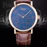Piaget-021-01 時尚新款Altiplano系列G0A40605採用9015機芯男表
