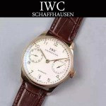 IWC-070-05 萬國葡萄牙7日鏈升級版定制版瑞士Cal.51011全自動機芯腕表