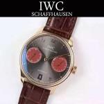 IWC-070-03 萬國葡萄牙7日鏈升級版定制版瑞士Cal.51011全自動機芯腕表