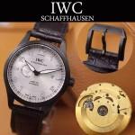 IWC-071-03 萬國馬克系列瑞士ETA2824-9點位機芯男士腕表