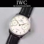 IWC-070-01 萬國葡萄牙7日鏈升級版定制版瑞士Cal.51011全自動機芯腕表