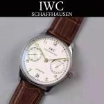 IWC-070 萬國葡萄牙7日鏈升級版定制版瑞士Cal.51011全自動機芯腕表