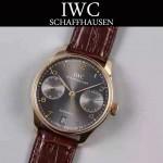 IWC-070-04 萬國葡萄牙7日鏈升級版定制版瑞士Cal.51011全自動機芯腕表