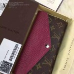 LV M60498-01 專櫃時尚新款原版皮水波紋牛皮錢包