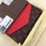 LV M60727-01 專櫃時尚新款原版皮水波紋牛皮錢包