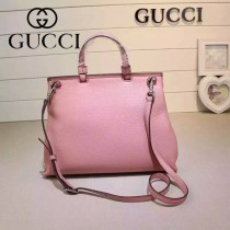 GUCCI 392013-01 專櫃時尚新款全智賢同款中號全皮提斜背包