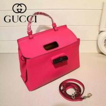 GUCCI 370831-04 專櫃時尚新款全智賢同款小號全皮提斜背包