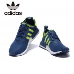 Adidas-19 阿迪達斯時尚新款NMD藍綠運動鞋休閒鞋