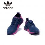 Adidas-18 阿迪達斯時尚新款男女款NMD藍粉運動鞋休閒鞋