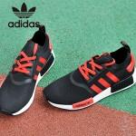 Adidas-23 阿迪達斯時尚新款情侶款NMD黑紅運動鞋休閒鞋