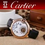 CARTIER-302-01 卡地亞新款礦物質超強鏡面機械機芯男士腕表