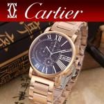 CARTIER-301-02 卡地亞倫敦系列日本石英機芯手表