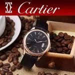 CARTIER-302-012 卡地亞新款礦物質超強鏡面機械機芯男士腕表