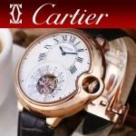 CARTIER-302-013 卡地亞新款礦物質超強鏡面機械機芯男士腕表