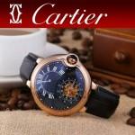 CARTIER-302 卡地亞新款礦物質超強鏡面機械機芯男士腕表